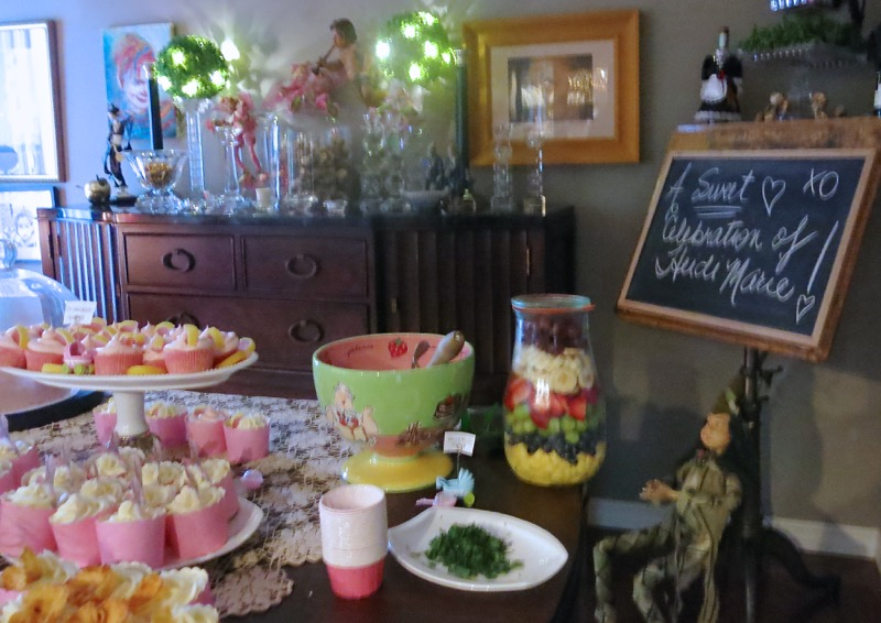 27 Girl Baby Shower Dessert Buffet