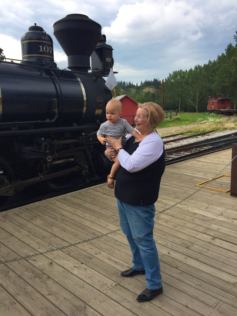 31 William and Gramsy at Fort Edmonton Park July 2016
