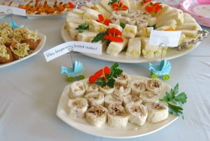 7 Girl Baby Shower Savory Buffet