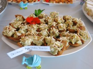 8 Girl Baby Shower Savory Buffet