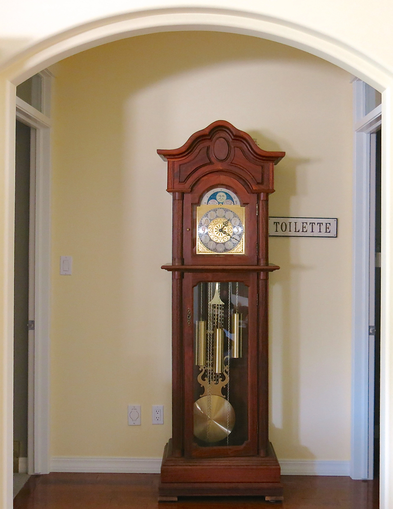 George McKinney Grandfather Clock