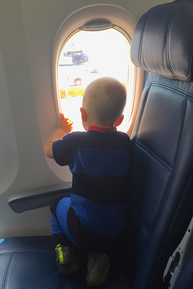 William Flying Home to SLC from YEG July 2016