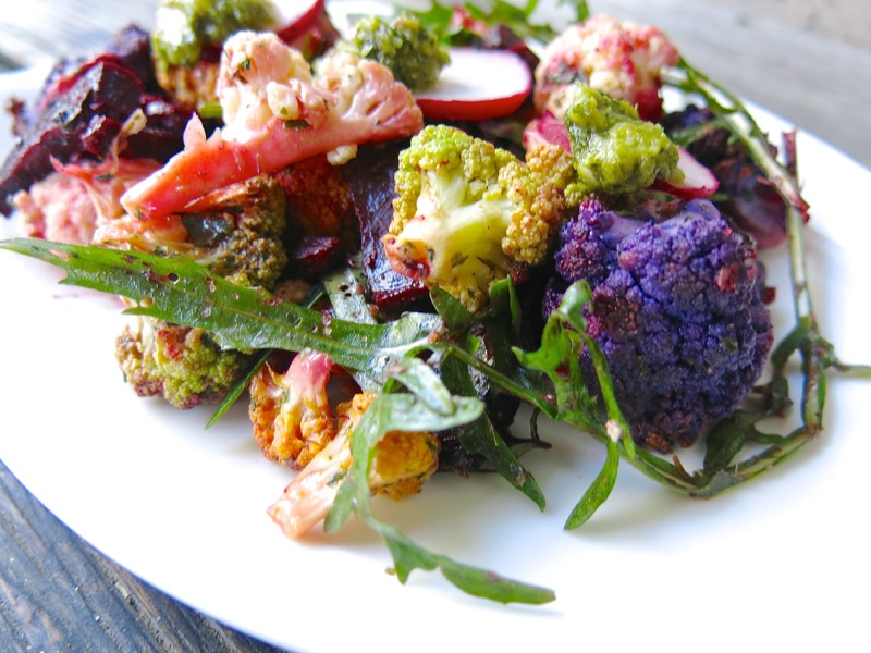 1-philips-airfryed-roasted-cauliflower-salad