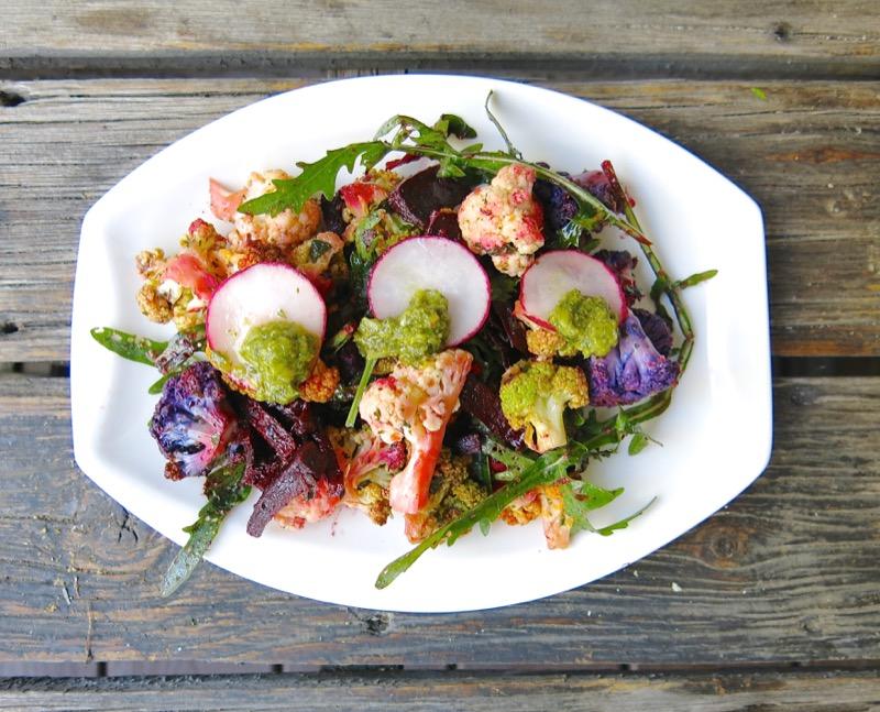 2-philips-airfryed-roasted-cauliflower-salad