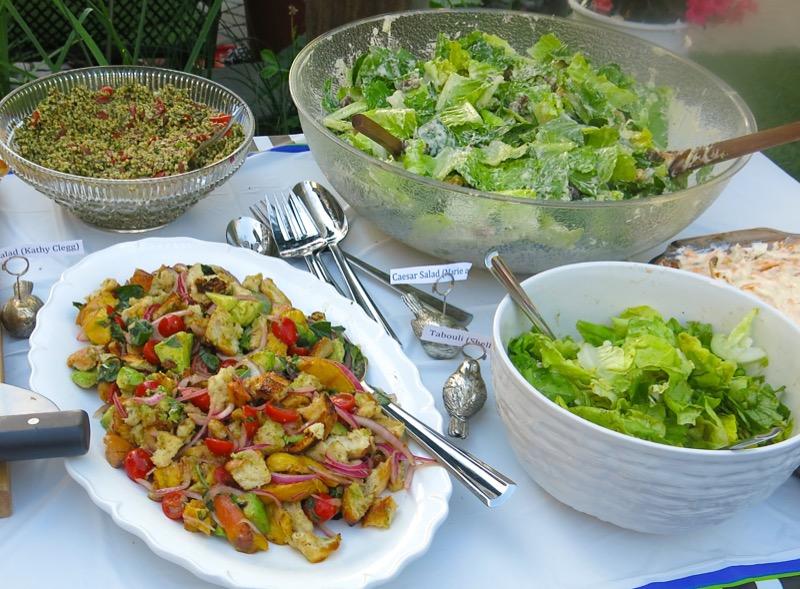 35-vanja-lugonjas-50th-birthday-pig-roast-buffet-salads