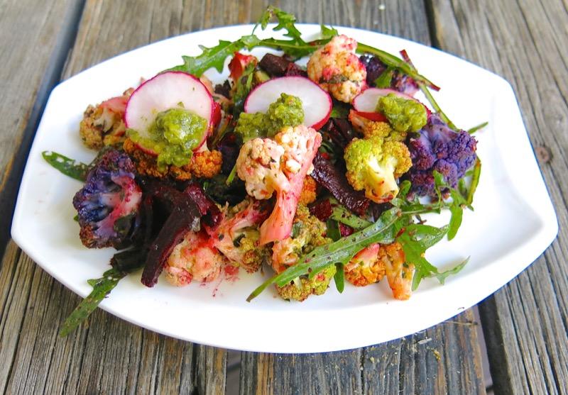6-philips-airfryed-roasted-cauliflower-salad