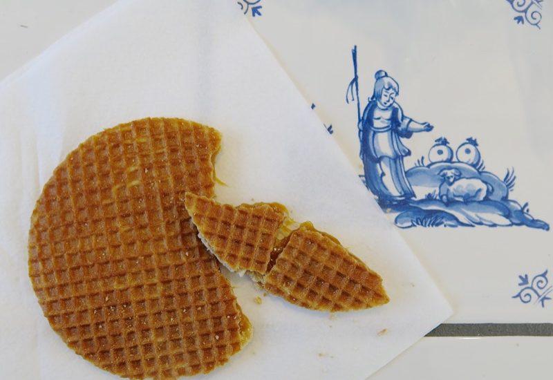 Dutch Food: Stroopwafels by Maico Vergunst in Delft