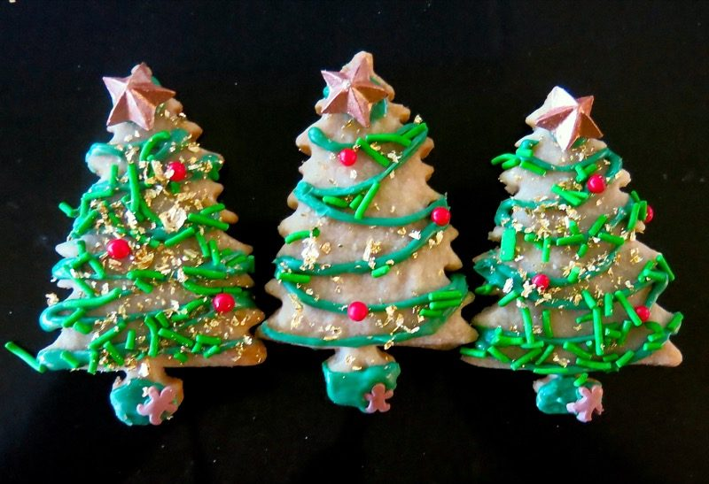 Christmas Butter Cookies: The Happiest Christmas Tree 2016