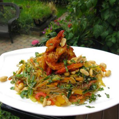 1-philips-airfyer-tiger-shrimp-and-glass-noodle-salad