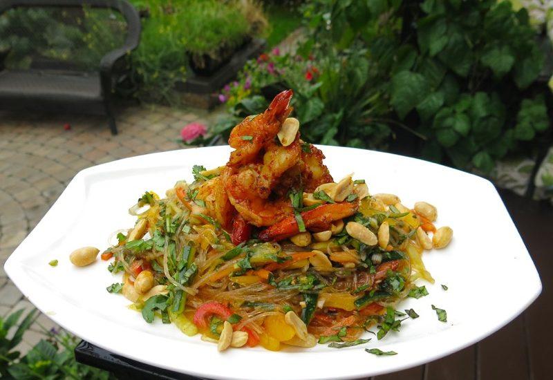 Philips AirFryer Giveaway: Tiger Shrimp and Glass Noodle Salad