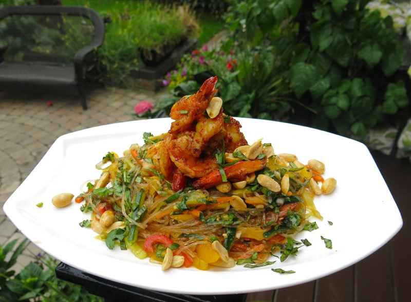 1-philips-airfyer-tiger-shrimp-and-glass-noodle-salad