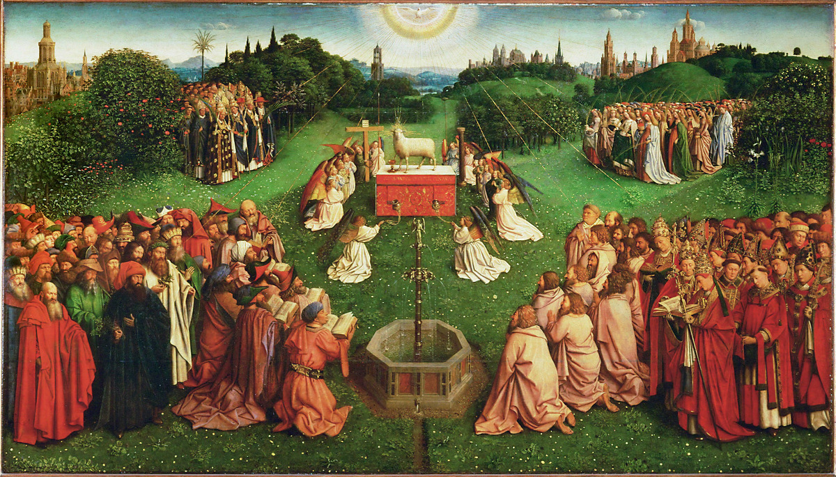 adoration-of-the-mystic-lamb-centre-of-the-alterpiece