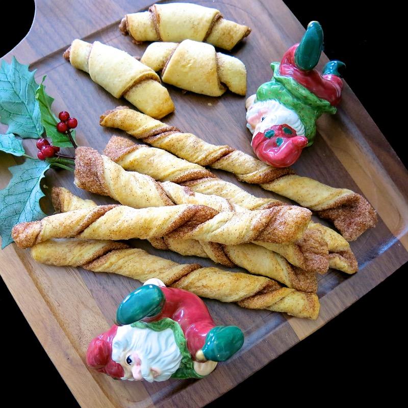 Scuffles Aka Cinnamon Twists Traditional Ukrainian Pastry Cookies