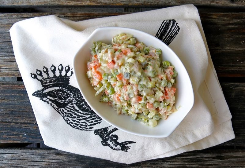 Russian Salad: A Traditional Eastern European Specialty