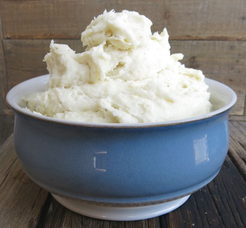 best ever homemade mashed potatoes