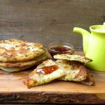 homemade green onion cakes