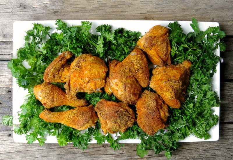 Homemade Oven Baked KFC Chicken: Cooking in the Kitchen with Elyse Chatterton from Life Without Lemons