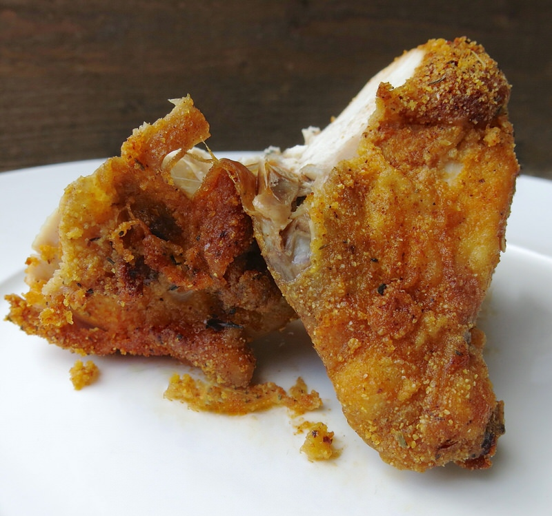 Homemade Oven Baked KFC Chicken