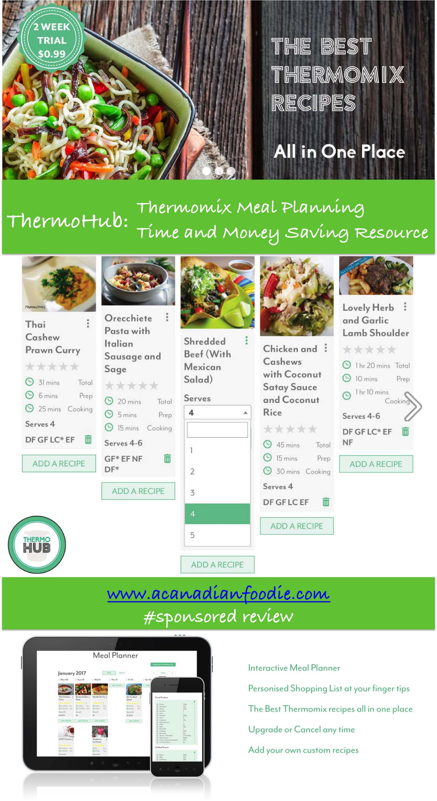 ThermoHub Thermomix Meal Planning: The New Center of the Universe