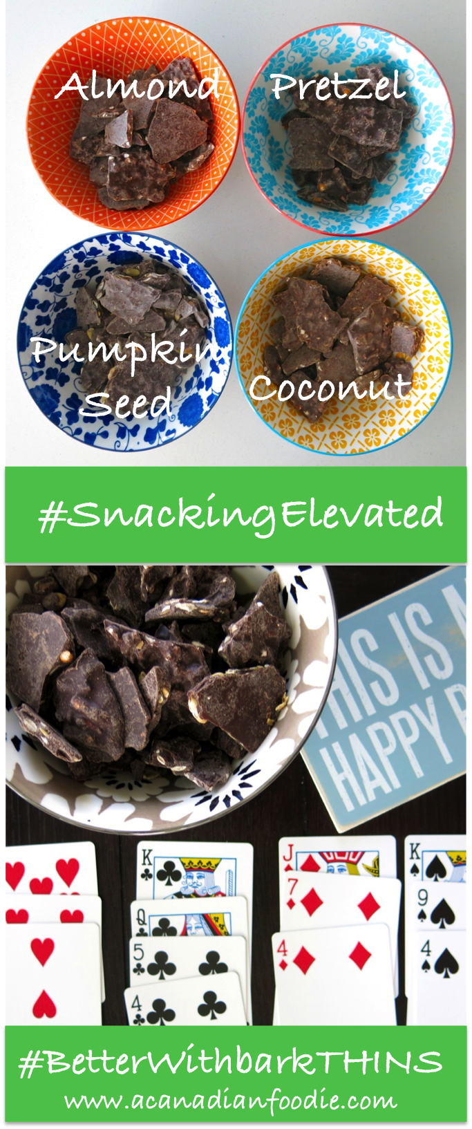 barkTHINS®: Delicious Non-GMO Fair Trade Dark Chocolate Bites; Yes You Can Snack on All Natural Dark Chocolate! #betterwithbarkTHINS #snackingelevated www.acanadianfoodie.com Enjoy chocolate snacks while committing to all natural real food.