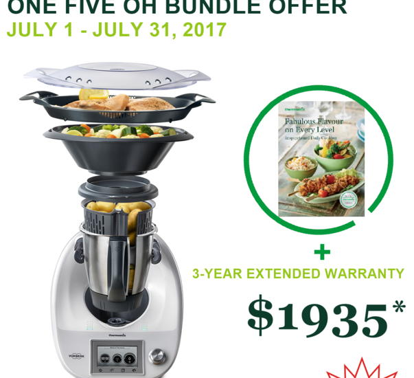 Thermomix TM5 Incentives and Cooking Classes July 1 2017