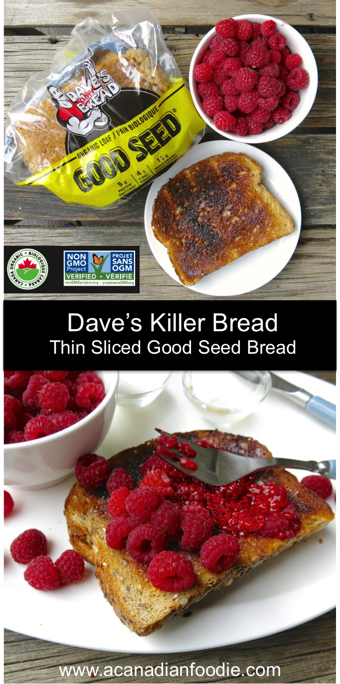 Dave's Killer Bread: Delicious, Nutritious, and Immensely Satisfying is now available in most grocery stores and in Costcos across Canada! #Sponsor #Ad #Partner #Paid #DKBCanada