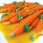 Saffron Glazed Carrots: