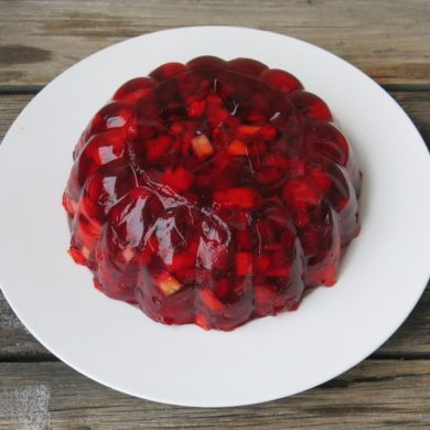 Partridgeberry Jelly Salad