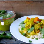 Thermomix Green Thai Chicken Curry with Homemade Green Curry Paste
