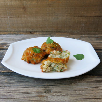 Thermomix Shrimp Cakes