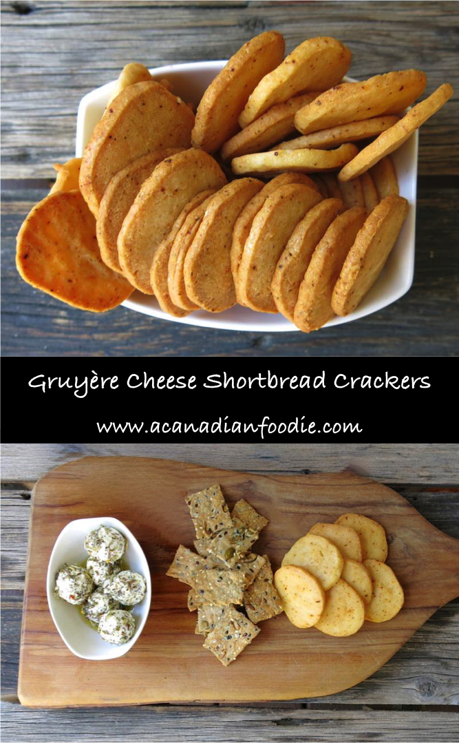 Gruyère Cheese Shortbread Crackers are Delicious Nippy Cheese Crackers. Simply irresistible and absolutely addictive. Easy to make. Step by step images included. Soon to be a family staple. #cheesecrackers #thermomixcrackers #gruyerecrackers
