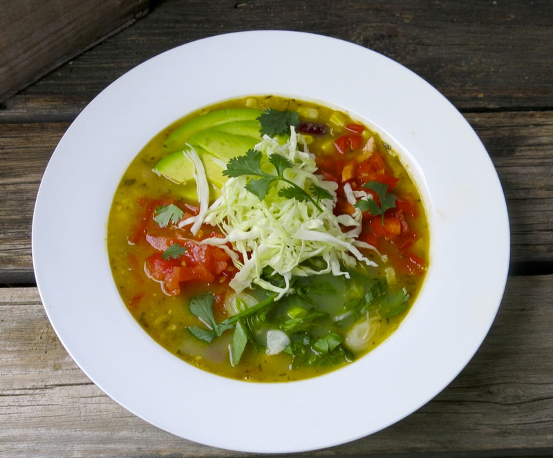 Mexican chicken soup the authentic recipe and a keeper for Mexican fish soup recipe