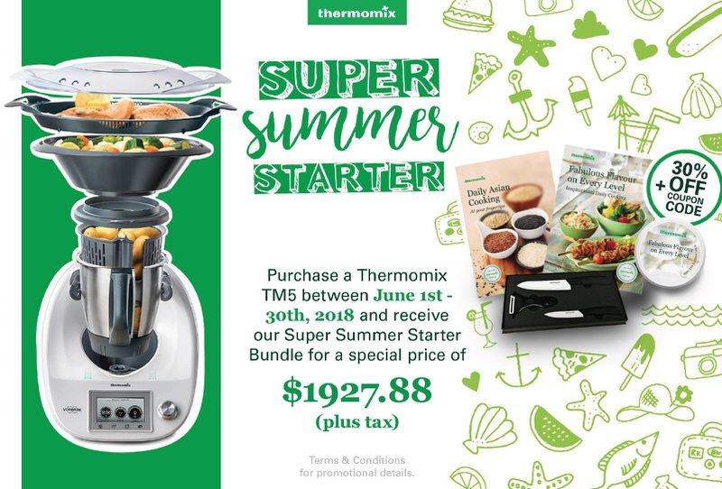 Thermomix June 2018 Client Incentive: Super Summer Starter Package