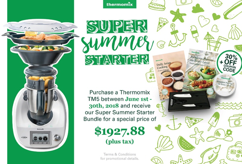 Thermomix Client Incentive for June 2018: We have consultants from Coast to Coast if you are interested in participating in a personal Thermomix Cooking Experience #ThermomixCanada