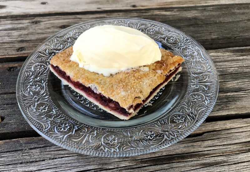 Sour Cherry Slab Pie: A Simple Twist on a Traditional Recipe