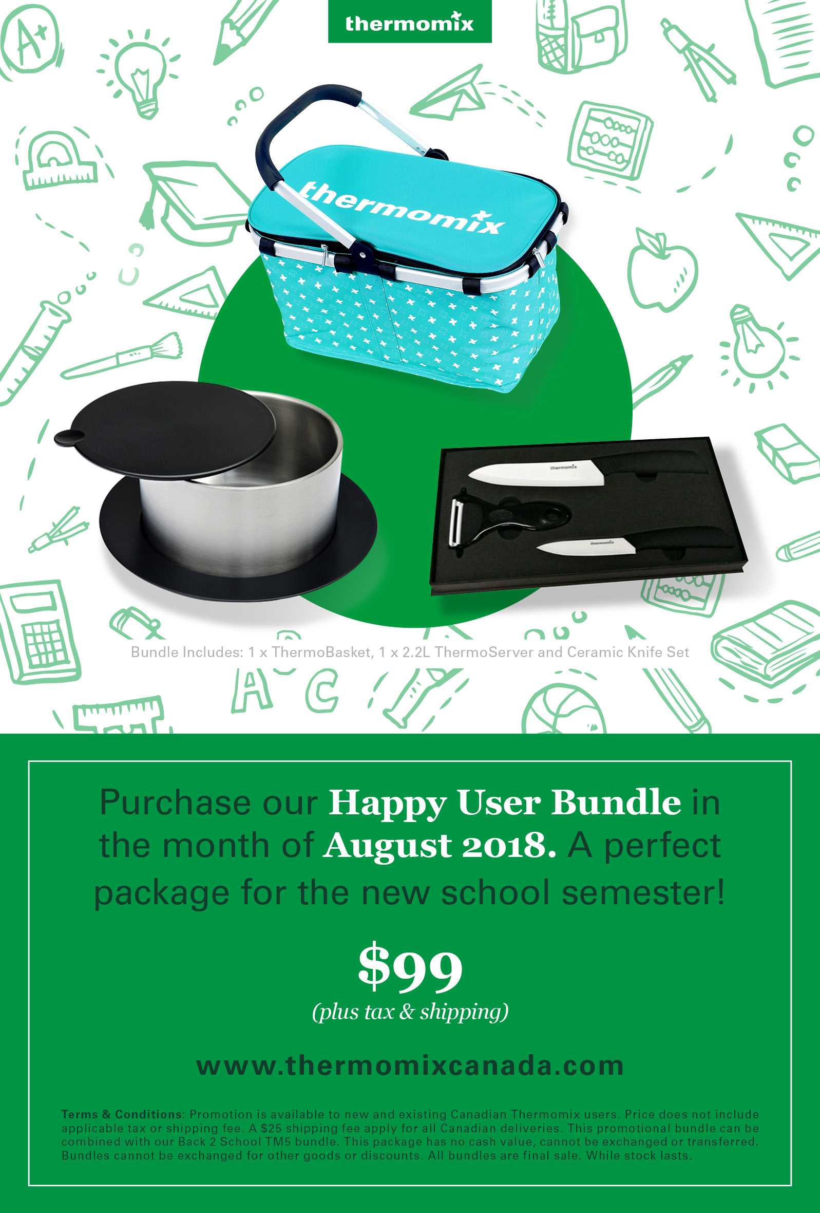 Thermomix August 2018: Price Increase to 1899CA September 2018