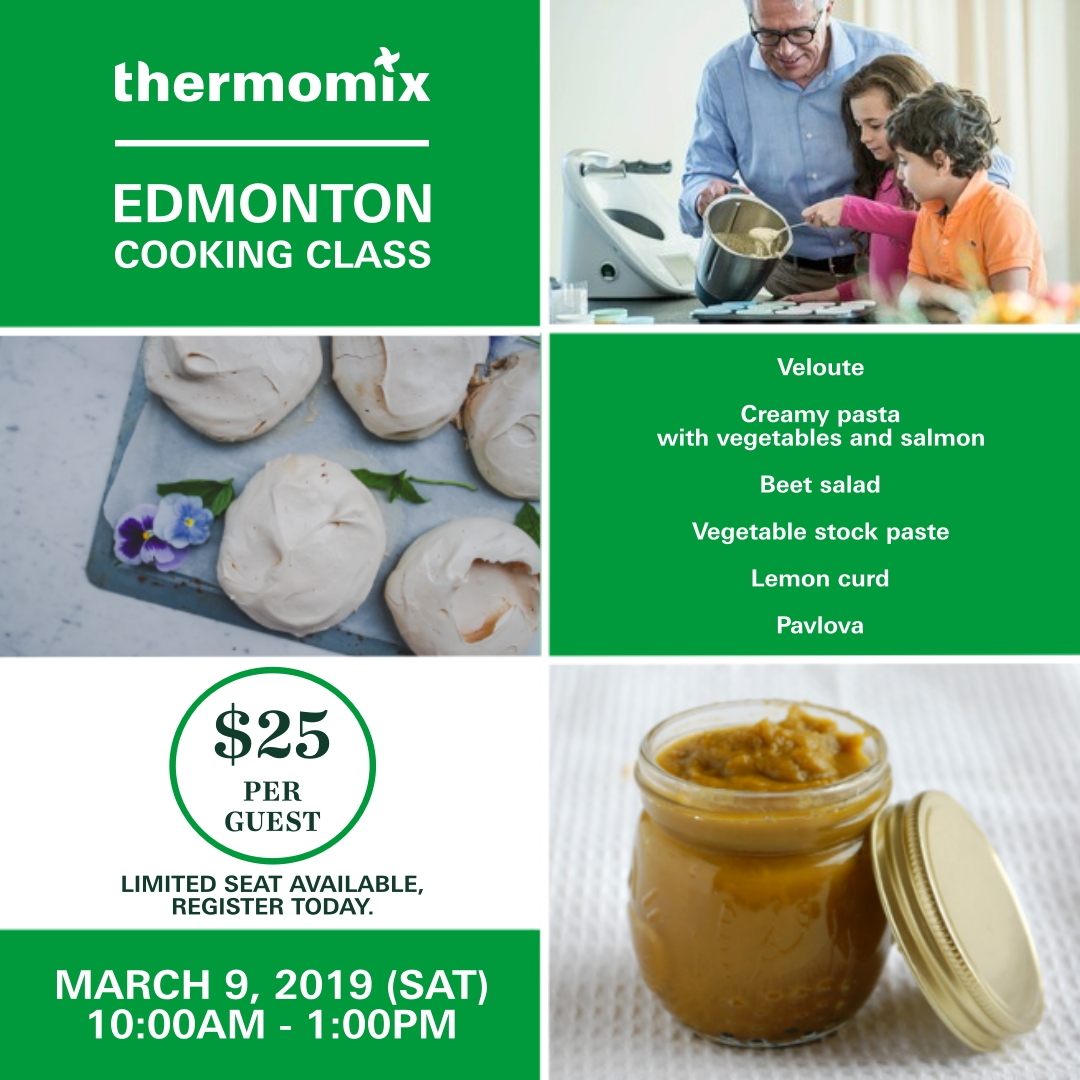 Thermomix Cooking Class March 2019