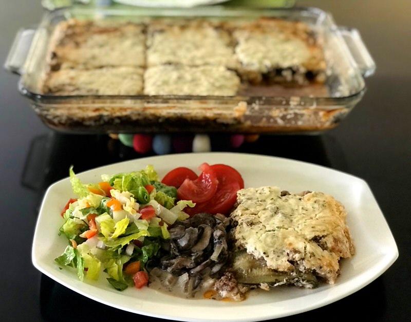 Keto Beef Zucchini Lasagna
