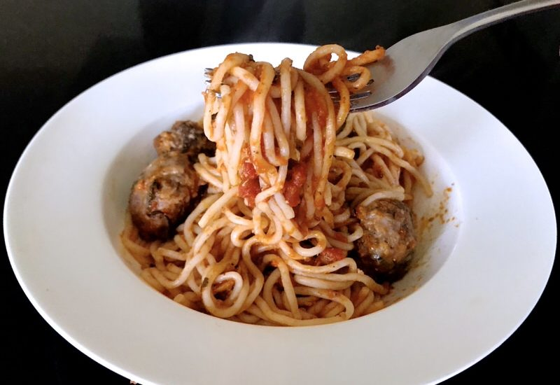 Reboot Keto Spaghetti and Meatballs: Project 2019 Evolv Health
