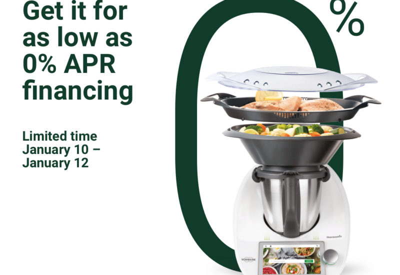 Thermomix TM6 Zero Percent Financing: 2 DAYS only