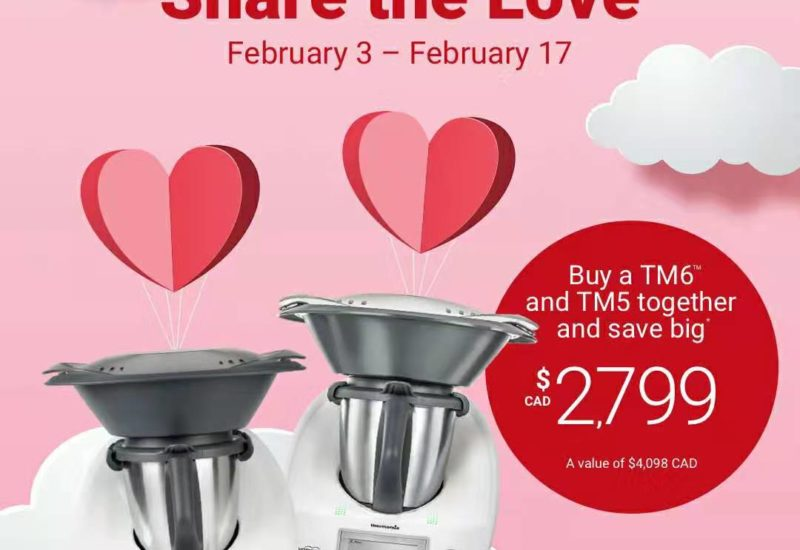 Thermomix® TM6™ and TM5™: Valentine's 2020 TEN DAY Promotion