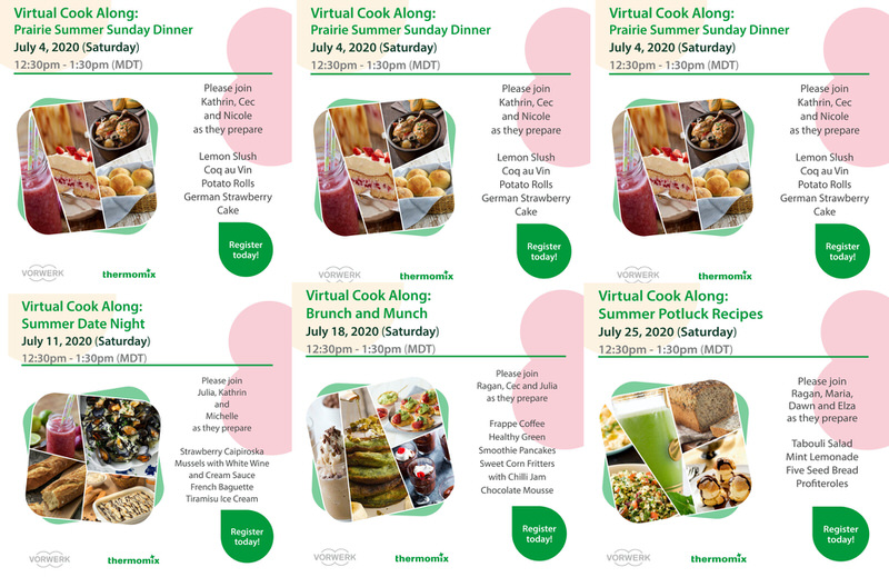 Thermomix Online Cooking Classes
