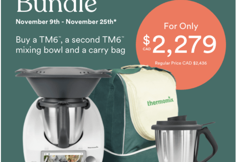 Thermomix November Promotion: Time for CHRISTMAS Purchase!