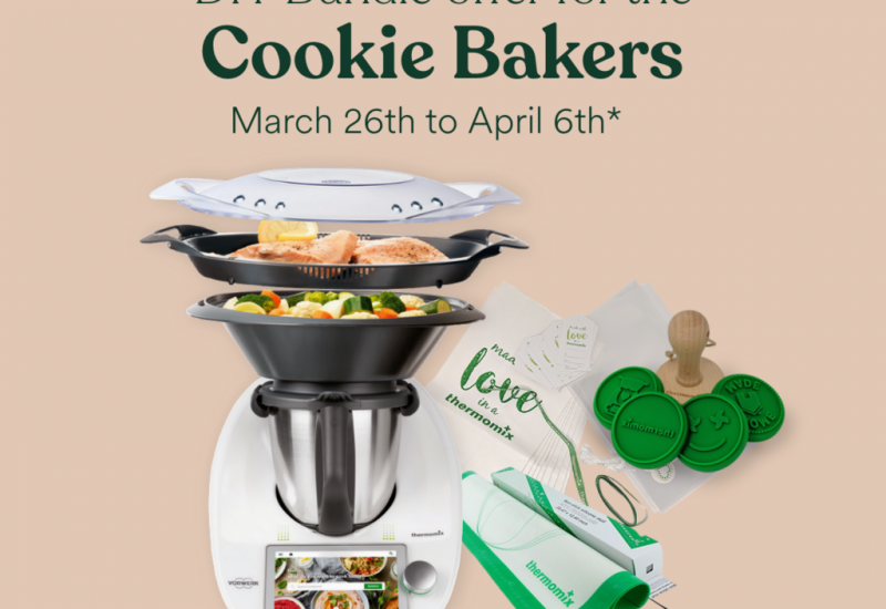 Thermomix DIY Cookie Bundle: March 26 to April 6 2021