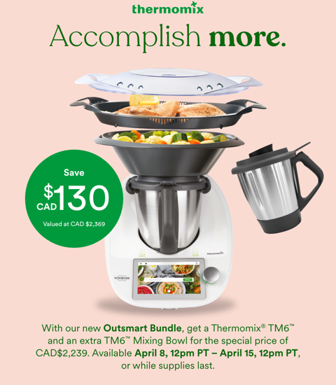 Thermomix Zero Percent with Second Bowl Offer: One Week ONLY!